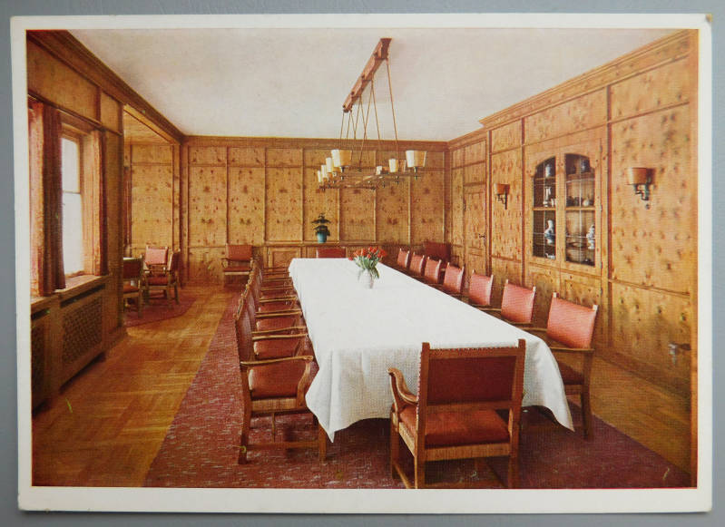 Dining room in Obersalzberg