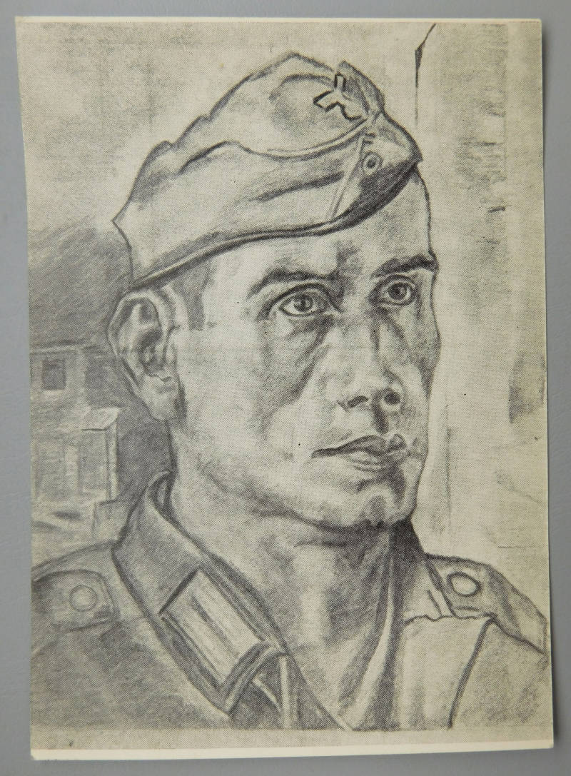 Drawing of soldier