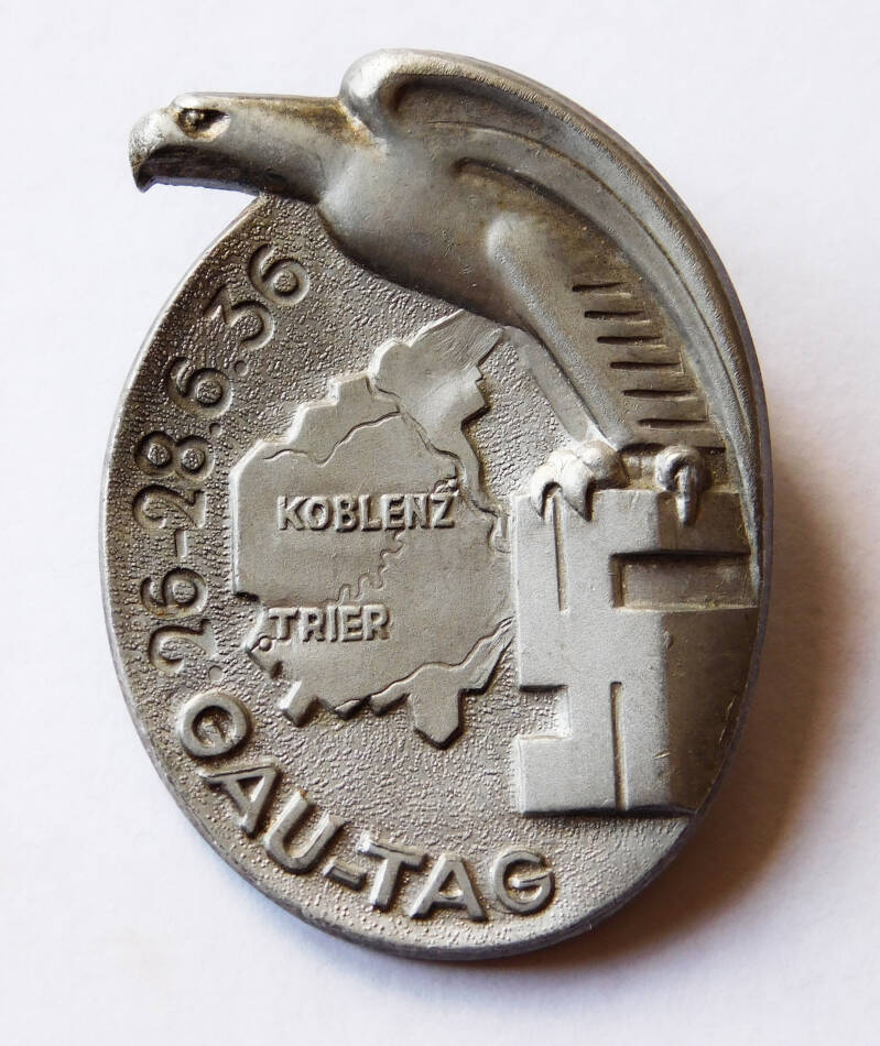 Conference badge Gau-Tag Koblenz Trier 1936