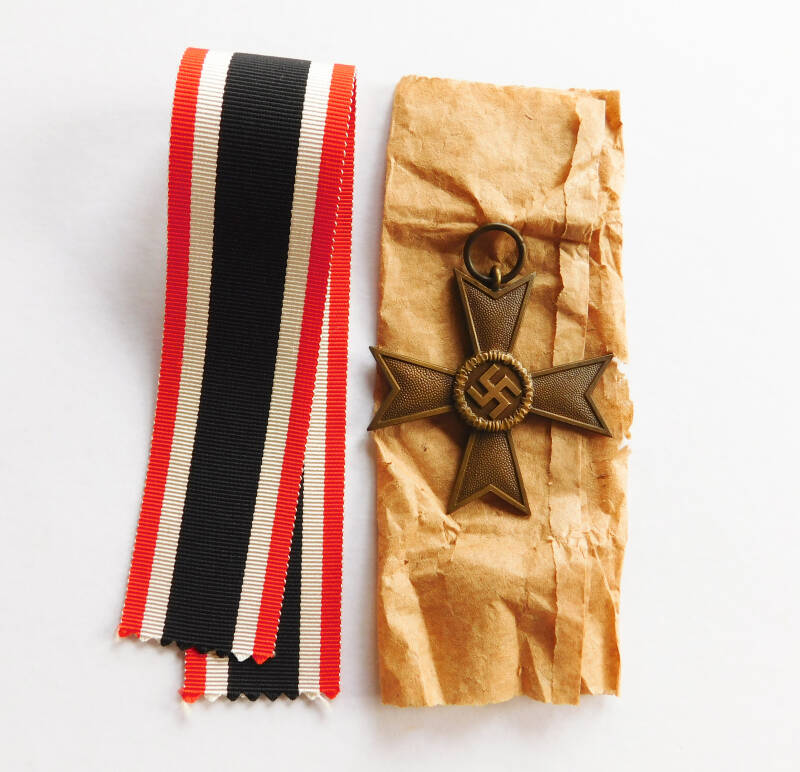 War Merit Cross, 2nd class with original paper bag