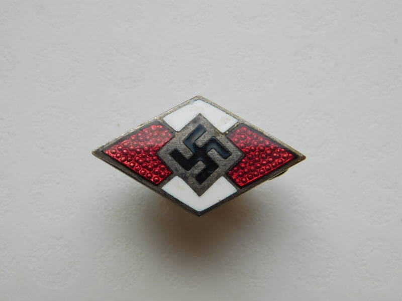 Hitlerjugend Member Badge - RZM/93