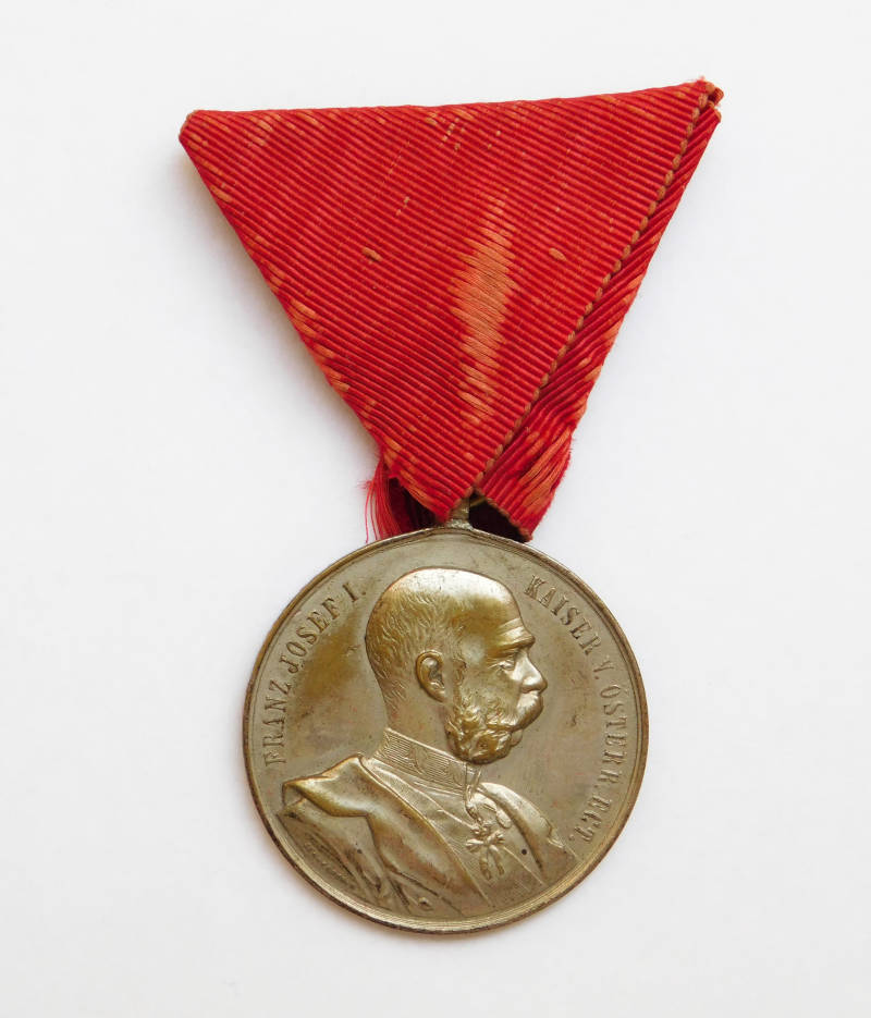 Medal for the 70th Birthday of His Majesty Emperor Franz Joseph I., 1900