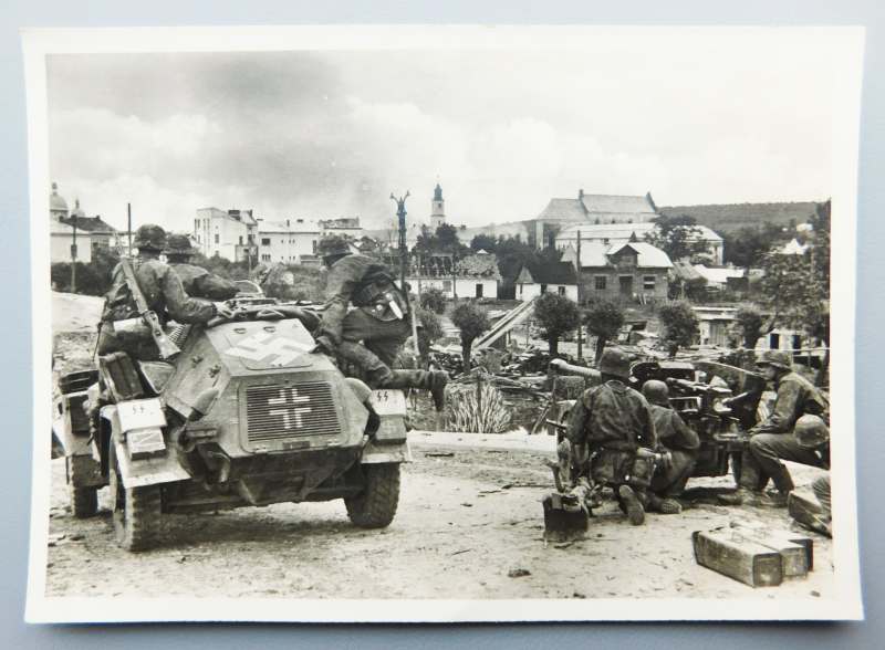 Postcard 5th SS Panzer Division Wiking