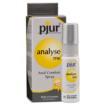 Analyse me, anal comfort spray