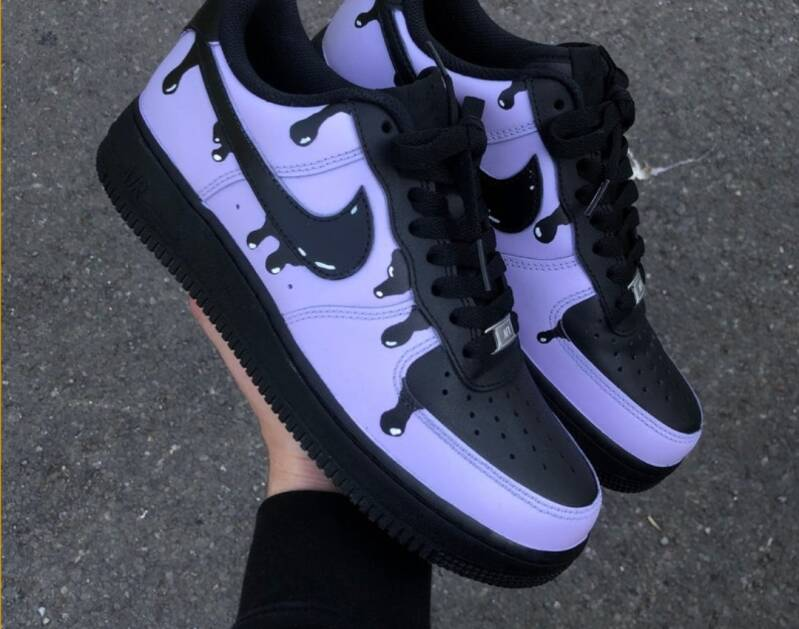 NIKE AF1: Bubble Twist X Air Force 1