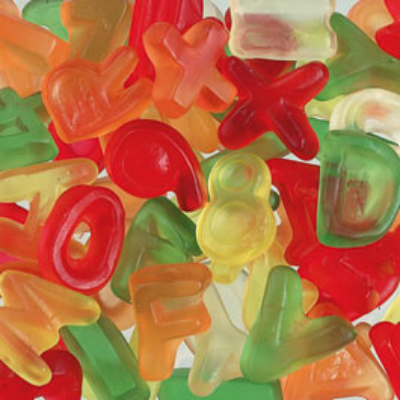 HARIBO LETTERS GOM ABC
