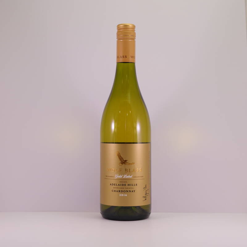 2016-Wolf Blass Gold Label Chardonnay (Wit)