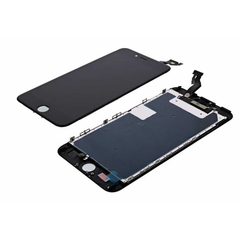 iPhone 6S PLUS LCD + Digitizer + Metal Plate, Complete OEM Replacement Glass