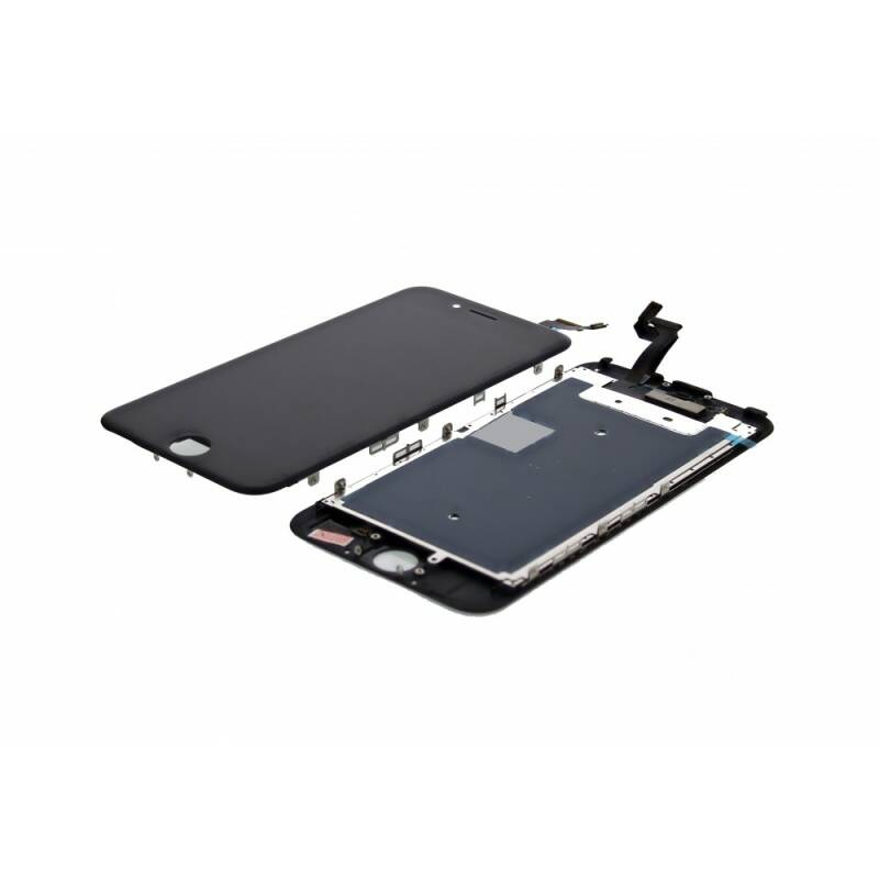 iPhone 6S Display + Touchscreen + Metal plate, Replacement Glass OEM