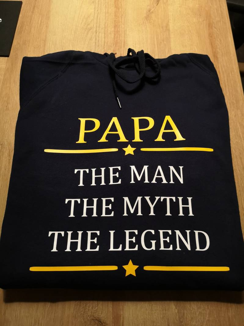Volwassen sweater - Papa the man