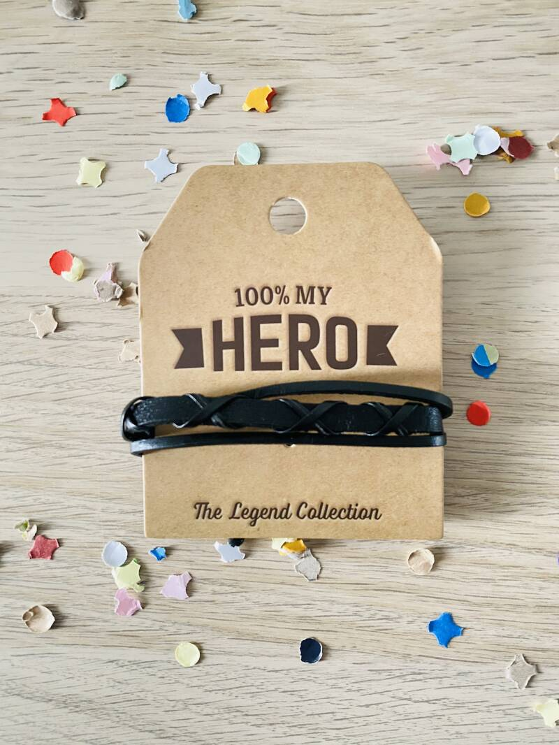 The legend collection armband - 100% my hero