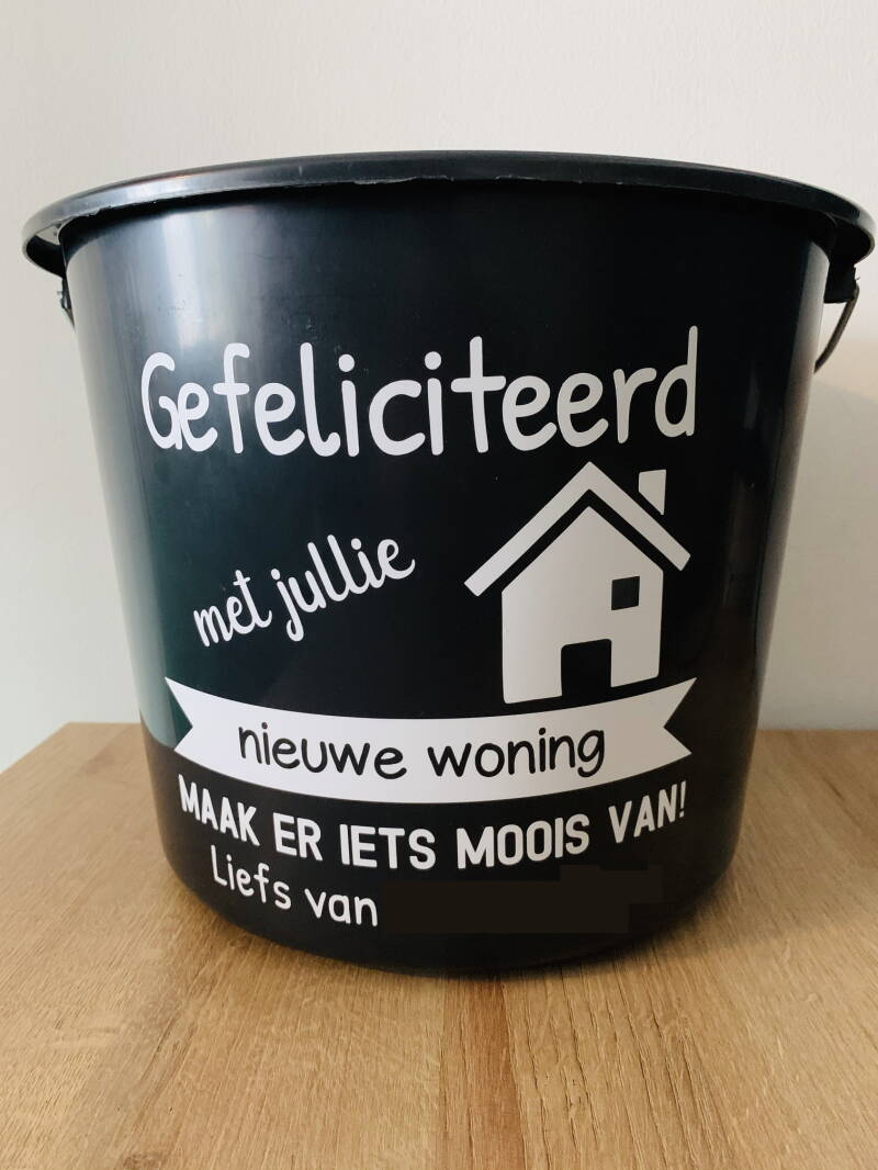 DIY - Sticker Poetsemmer