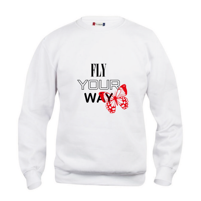 SWEATER FLY YOUR WAY - UNISEX
