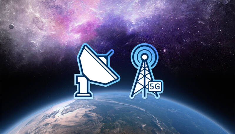 Satellite and network branding icons