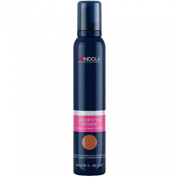 Color Style Mousse Midden Bruin 200ml