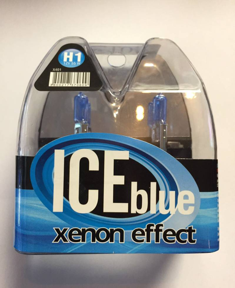 H1 ICE-blue Xenon Look
