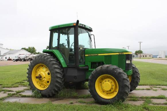 JD01 John Deere 7210, 7410, and 7510 2WD or MFWD Tractors Diagnostic, Operation & Tests Technical Manual (TM1654) SD