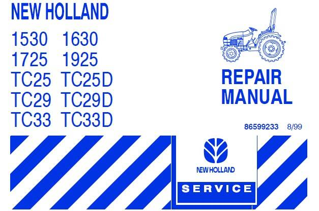 NHTR New Holland 3010S , 4010S , 5010S Tractor Service Repair Manual SD