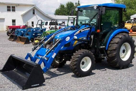 NHTR New Holland T2410, T2420 Tractor Service Repair Manual SD