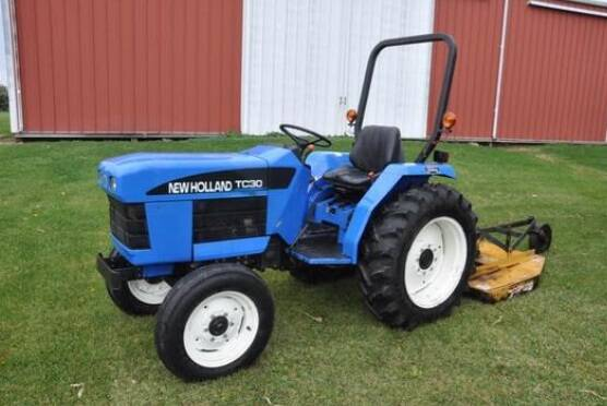 NHTR New Holland TC30 Tractor Service Repair Manual 2005 SD