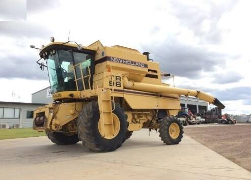 NHTRC New Holland TR89, TR99 Combine Service Repair Manual SD