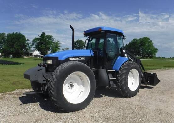 NHTR New Holland TV140 Tractor Service Repair Manual SD