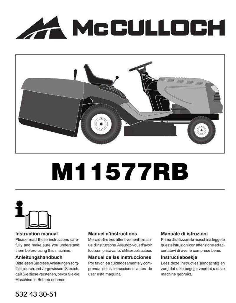 Muchulich Ride On Mowers No2  See cover for Models