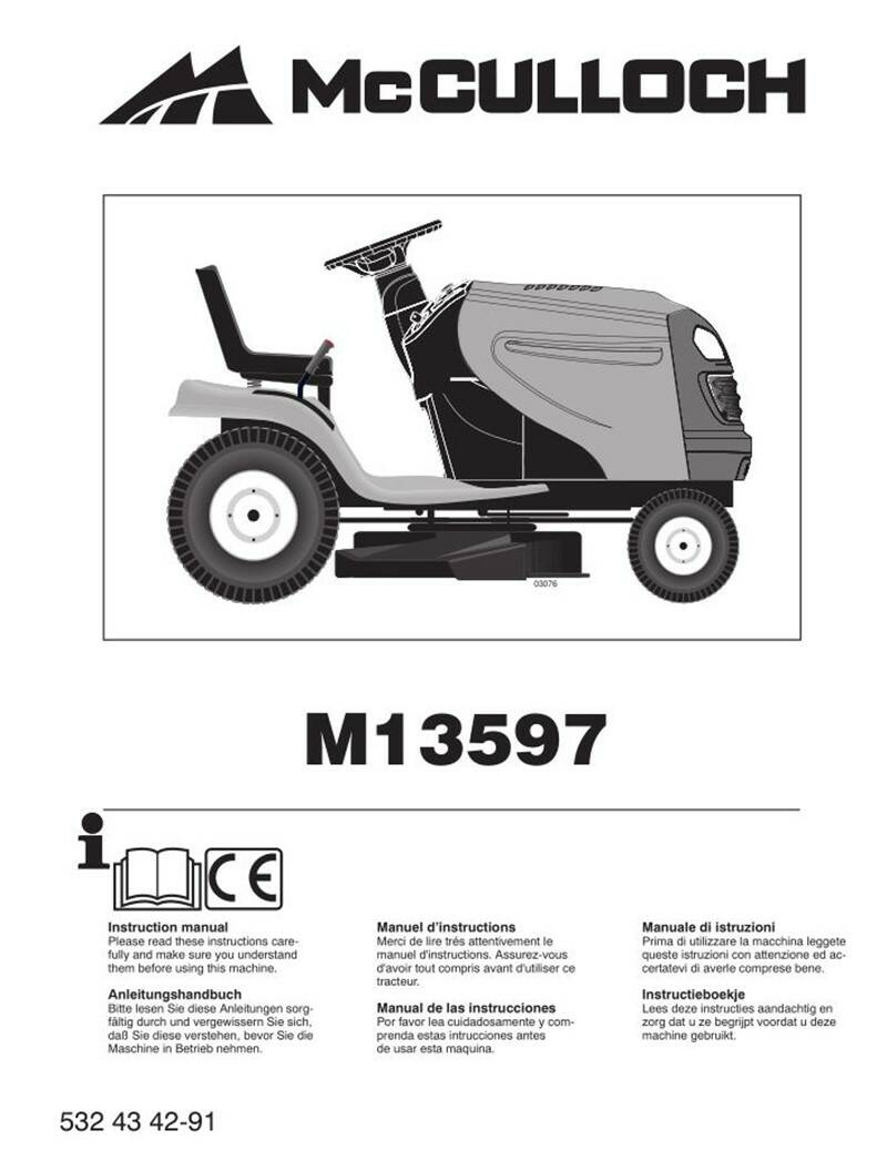Muchulich Ride On Mowers No3  See cover for Models