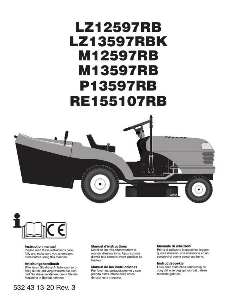 Muchulich Ride On Mowers No4  See cover for Models