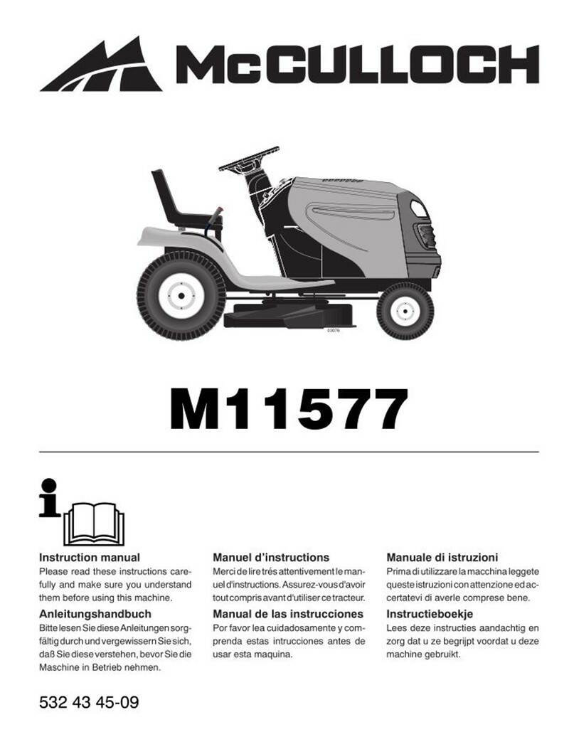 Muchulich Ride On Mowers No5  See cover for Models