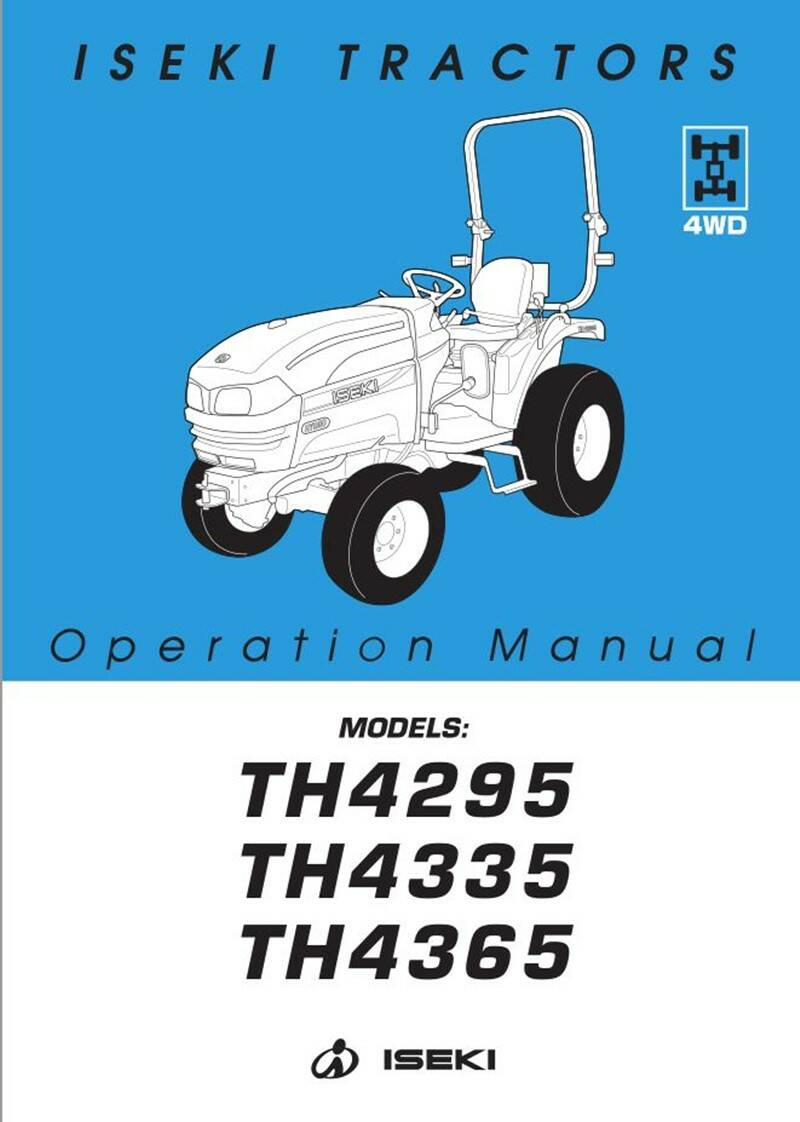 TH4335 HST Operation manual