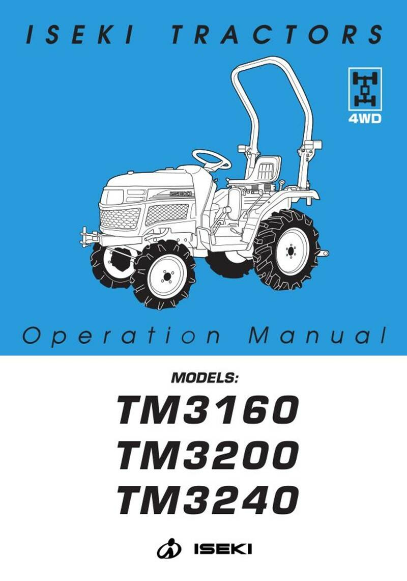 TM3160 Safety and opps  manual