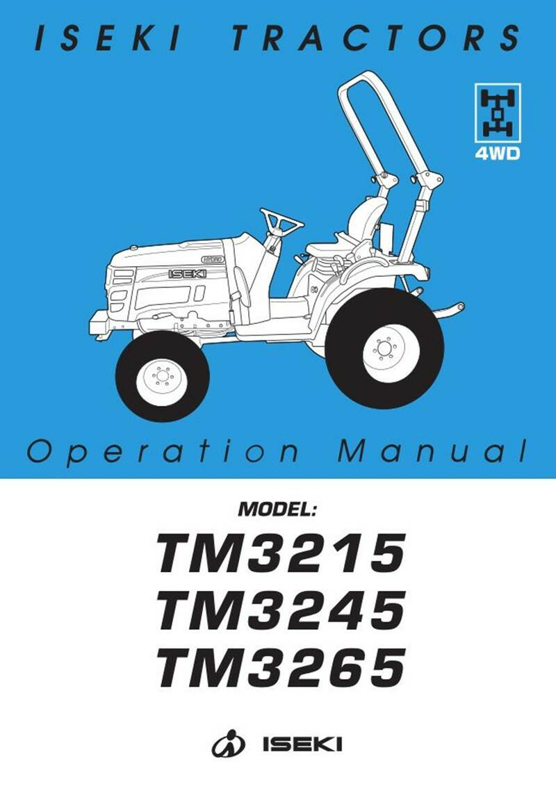 TM3215 Operation and safety manual