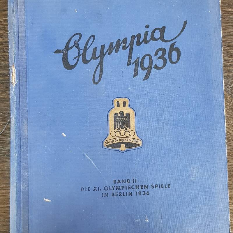 Olympia '36 book Olympic Games Berlin 1936