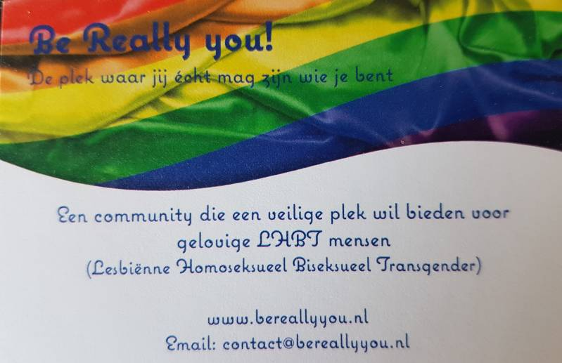 Visitekaartje Be Really You