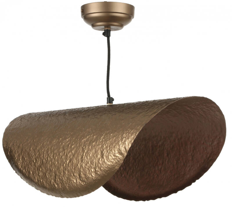 Mica Decorations hanglamp Morena 62 x 25 x 22 cm staal goud