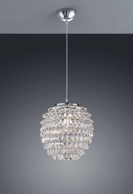 Hanglamp Petty 160 cm staal chroom
