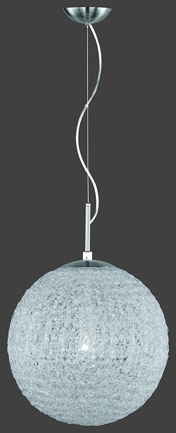 Hanglamp Sweety 40 cm staal wit/zilver
