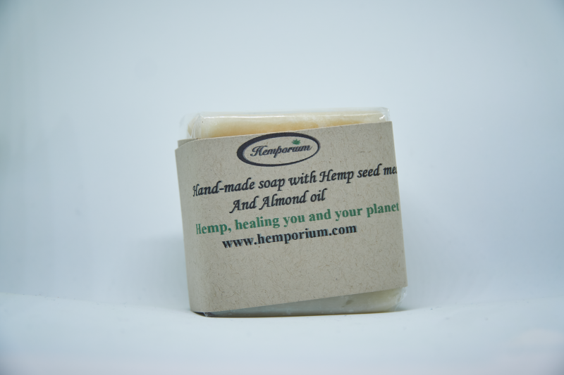Hemp soap with Almond oil