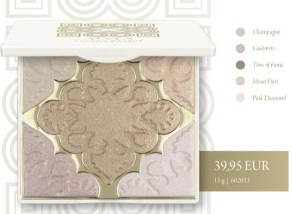ALAYA MAKEUP GLASS SKIN HIGHLIGHTER PALETTE 15G