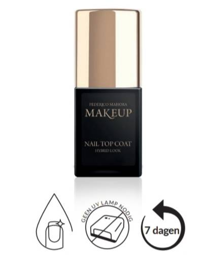 Nagellak top coat 11ml