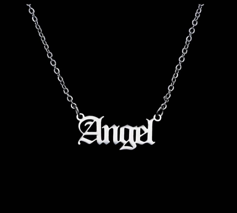 STAINLESS SILVER NECKLACE | ANGEL