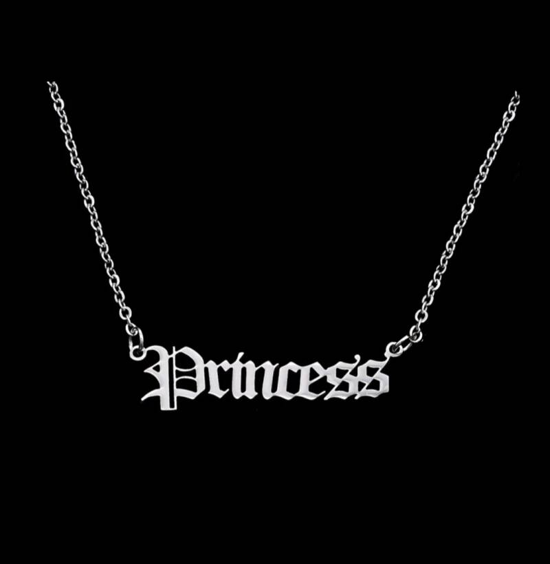 STAINLESS SILVER NECKLACE | PRINCESS