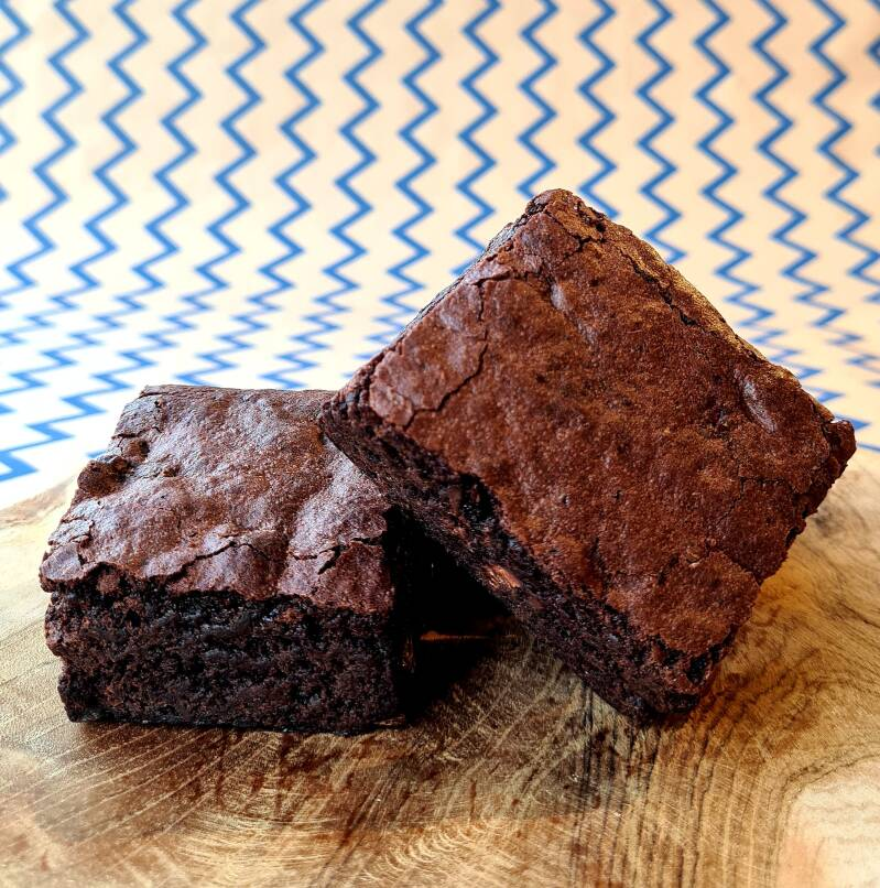 Vegan Pure Chocolade Brownies