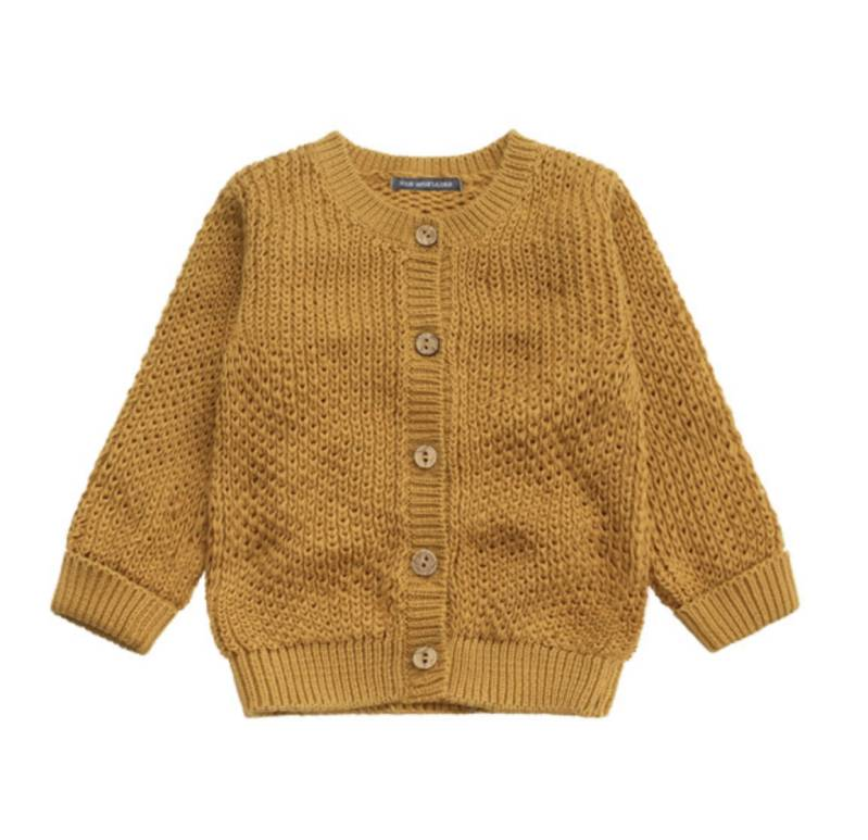 OCHRE KNIT | VEST | Yourwishes