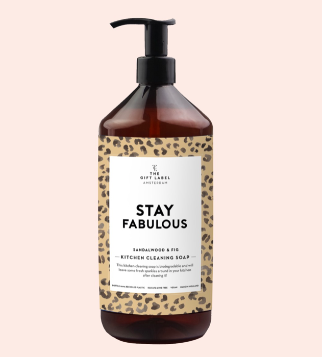 Kitchen cleaning soap - stay. fabulous