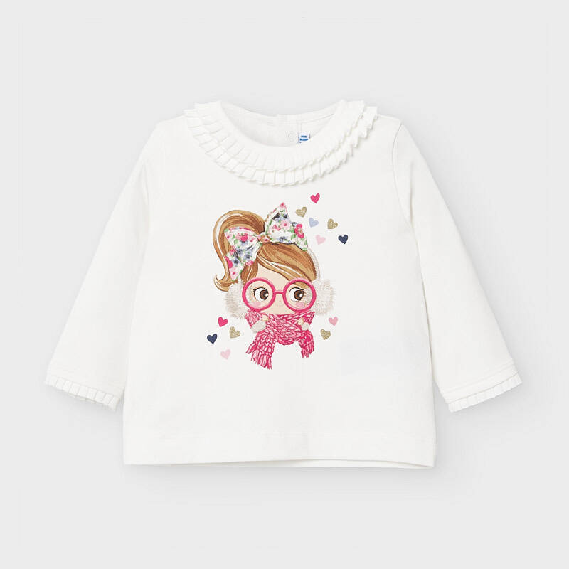 T SHIRT GIRL CORAIL MAYORAL REF 2055