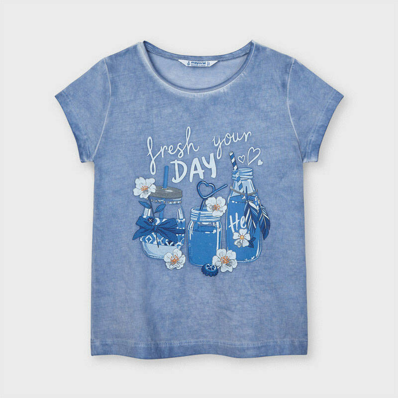 T SHIRT COCTAIL BLAUW MAYORAL REF 3015