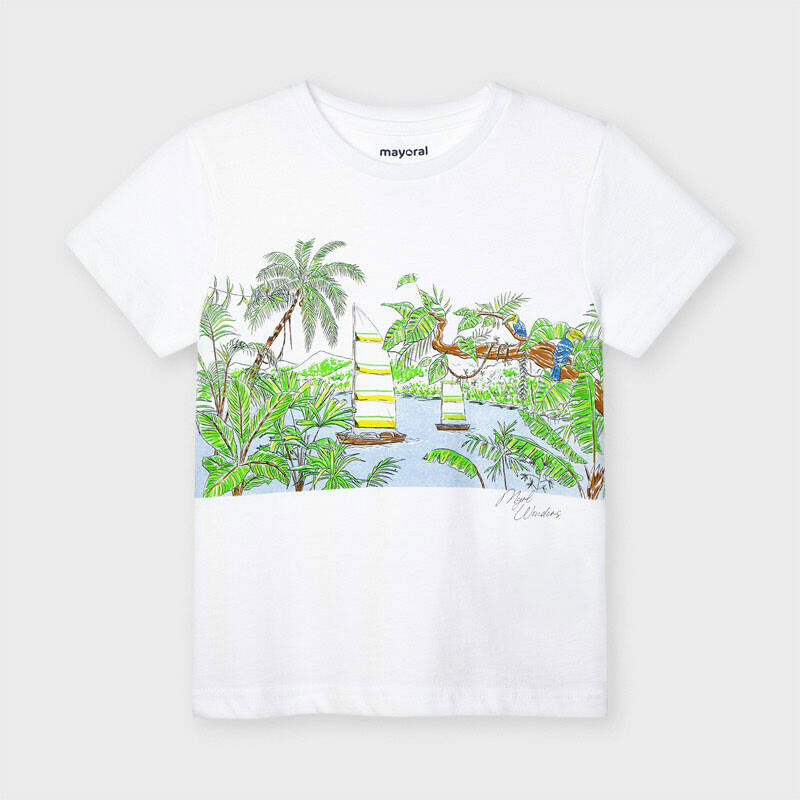 SHORTSLEEVE WIT LAGOON MAYORAL REF 3051