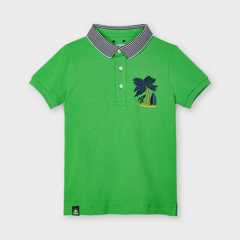 POLO GROEN PALMBOOM MAYORAL REF 3102
